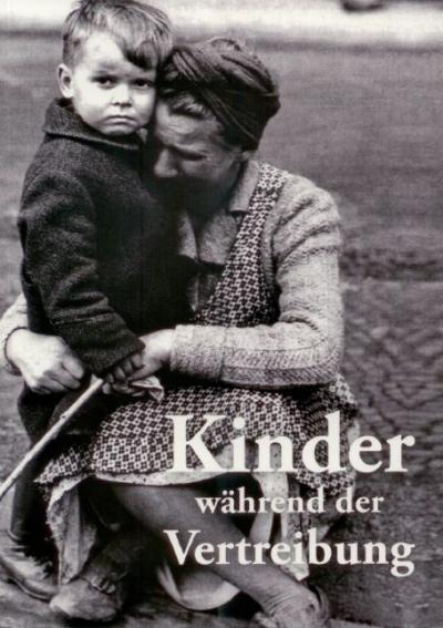 Kinder während der Vertreibung
