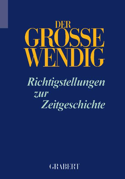 Der Grosse Wendig - Band 2
