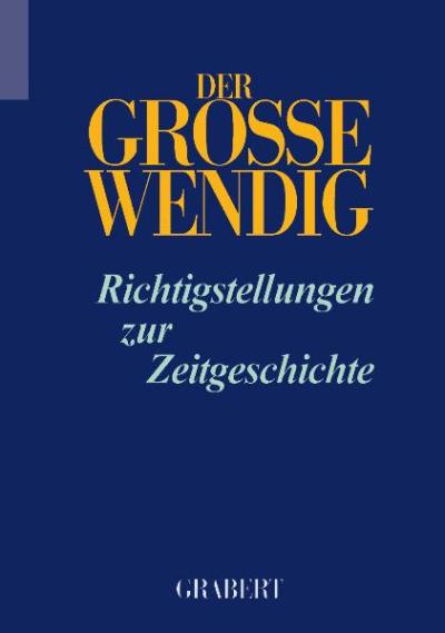 Der Grosse Wendig - Band 3